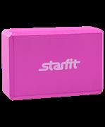 Блок для йоги FA-101 EVA, розовый