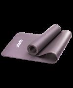 Коврик для йоги FM-301, NBR, 183x58x1,0 см, серый