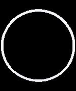 Обруч для художественной гимнастики AGO-101, 75 см