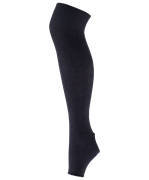 Гетры для танцев GS-101, полушерсть, 75 см, черный