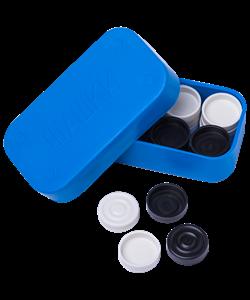 Шашки пластиковые - фото 43502