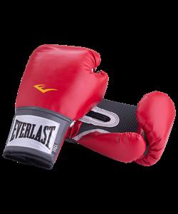 Перчатки боксерские Pro Style Anti-MB 2110U, 10oz, к/з, красные - фото 43831