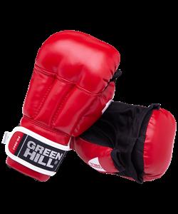 Перчатки для рукопашного боя PG-2047, к/з, красный - фото 43892