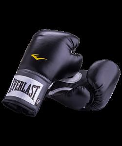 Перчатки боксерские Pro Style Anti-MB 2312U, 12oz, к/з, черные - фото 44275