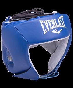 Шлем открытый Everlast USA Boxing  кожа - фото 44285