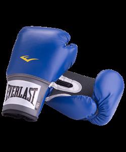 Перчатки боксерские Pro Style Anti-MB 2212U, 12oz, к/з, синие - фото 44329