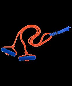 Эспандер лыжника-пловца V76 двойной взрослый ЭЛБ-2Р-К - фото 44336