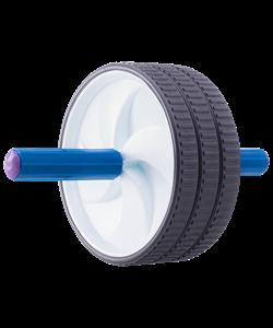 Ролик гимнастический 3-колесный большой - фото 44351