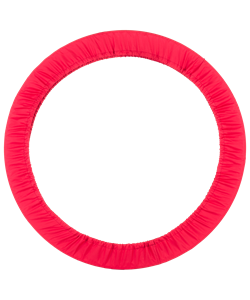 Чехол для обруча без кармана D 650, красный - фото 44465