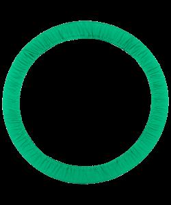 Чехол для обруча без кармана D 750, зеленый - фото 44467