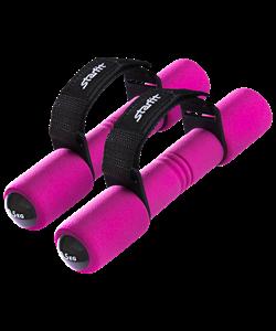 Гантель неопреновая DB-203 0,5 кг, розовая - фото 44549