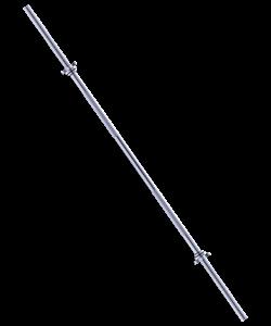 Гриф для штанги BB-103 прямой, d=25 мм, 150 см - фото 44611