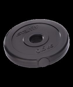 Диск пластиковый BB-203, d=26 мм, черный, 0,5 кг - фото 44663