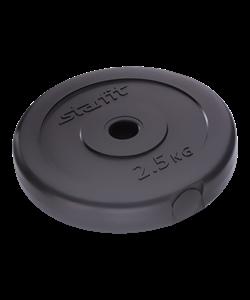 Диск пластиковый BB-203, d=26 мм, черный, 2,5 кг - фото 44671