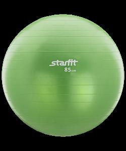 Мяч гимнастический GB-101 85 см, антивзрыв, зеленый - фото 44683