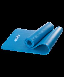 Коврик для йоги FM-301, NBR, 183x58x1,2 см, синий - фото 44725