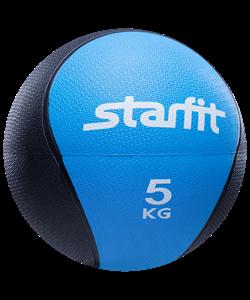 Медбол PRO GB-702, 5 кг, синий - фото 44774