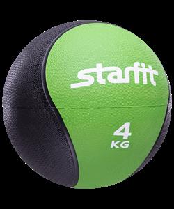 Медбол PRO GB-702, 4 кг, зеленый - фото 44776