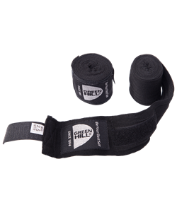Бинт боксерский BP-6232a, 2,5м, эластик, черный - фото 44884