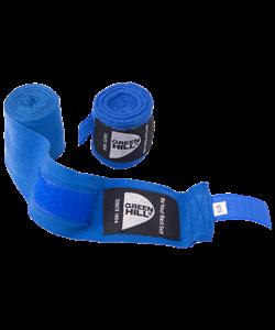 Бинт боксерский BC-6235a, 2,5м, х/б, синий - фото 44888