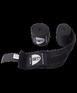 Бинт боксерский BP-6232c, 3,5м, эластик, черный - фото 44890