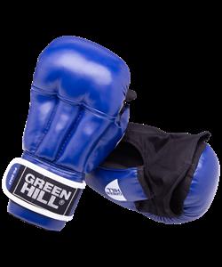 Перчатки для рукопашного боя PG-2047, к/з, синий - фото 44919