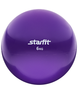 Медбол GB-703, 6 кг, фиолетовый - фото 45033