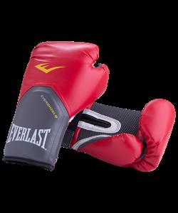Перчатки боксерские Pro Style Elite 2114E, 14oz, к/з, красные - фото 45185
