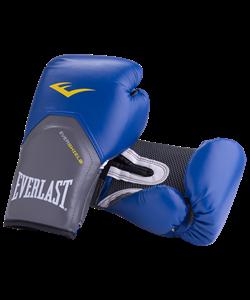 Перчатки боксерские Pro Style Elite 2214E, 14oz, к/з, синие - фото 45190