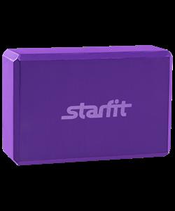 Блок для йоги FA-101 EVA, фиолетовый - фото 45240