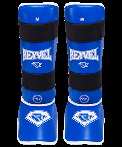 Защита голень-стопа RV- 511, к/з, синяя - фото 45375