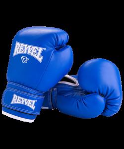 Перчатки боксерские RV-101, 6oz, к/з, синие - фото 45388