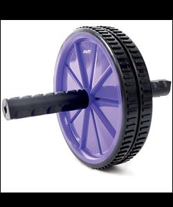 Ролик для пресса RL-101, фиолетовый/черный - фото 45462