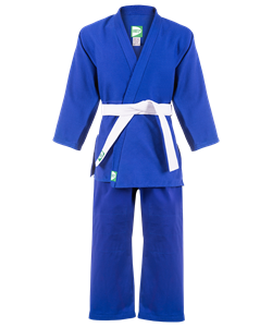 Кимоно дзюдо MA-302 синее, р.2/150 - фото 45501