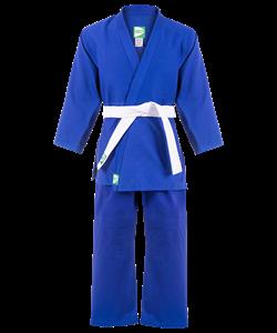 Кимоно дзюдо MA-302 синее, р.3/160 - фото 45504