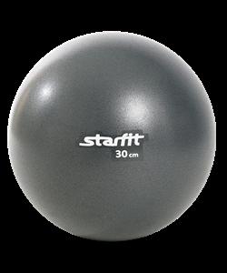Мяч для пилатеса GB-901, 30 см, серый - фото 45528