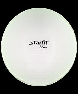 Мяч гимнастический GB-105 85 см, прозрачный, зеленый - фото 45533