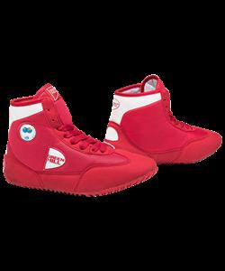 Обувь для борьбы GWB-3052/GWB-3055, красная/белая - фото 45927