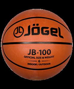 Мяч баскетбольный JB-100 №6 - фото 45945