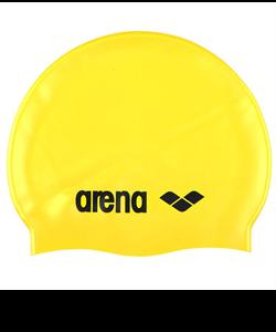 Шапочка для плавания Classic Silicone Cap yellow/black, силиконовая, 91662 35 - фото 46233