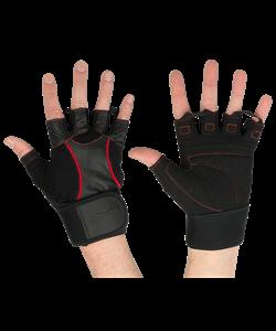 Перчатки атлетические SU-120, чёрные - фото 46246