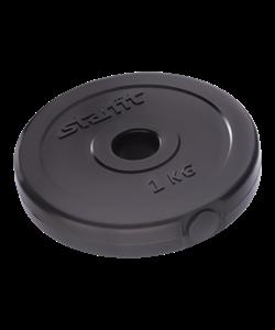 Диск пластиковый BB-203, d=26 мм, черный, 1 кг - фото 46337