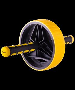 Ролик для пресса RL-105, черный/желтый - фото 46572