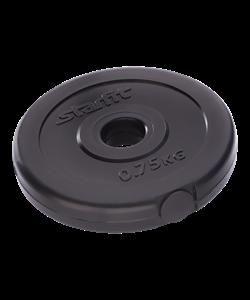 Диск пластиковый BB-203, d=26 мм, черный, 0,75 кг - фото 46593
