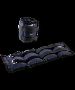 Утяжелители WT-401 2 кг, темно-серый - фото 46796
