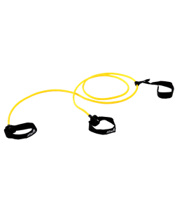 Эспандер лыжника-пловца ES-901, 6х9х2200 мм, 2 кг, желтый - фото 46800