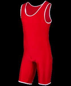 Трико борцовское, MA-401, 44-54, красный - фото 46882