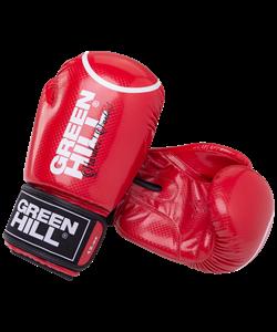Перчатки боксерские Panther BGP-2098, 12 oz, красный - фото 48473