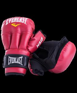 Перчатки для рукопашного боя HSIF RF3106, 6oz, к/з, красный - фото 48718