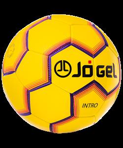 Мяч футбольный JS-100 Intro №5, желтый - фото 48758